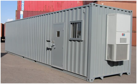 40 Office Storage Combination Container Long X 8 Wide 9 6 Tall